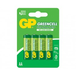 BATERIJA GP GREENCELL- ZnCl- 1.5V R06 (AA)