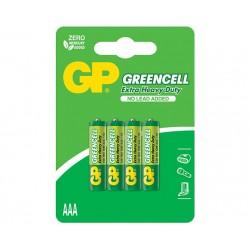 BATERIJA GP GREENCELL- ZnCl- 1.5V R03 (AAA)