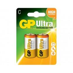 BATERIJA GP ULTRA- ALKALNA- 1.5V LR14 (C)