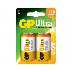BATERIJA GP ULTRA- ALKALNA- 1.5V LR20 (D)
